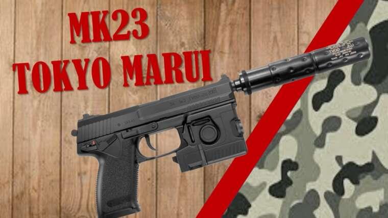 REVUE AIRSOFT  MK23  TOKYO MARUI