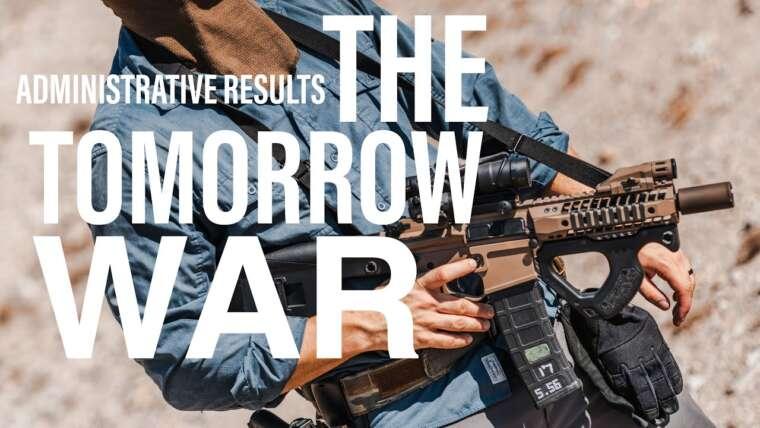 Le pistolet de guerre de demain