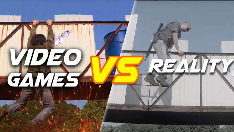 Jeux vidéo vs.  Réalité – RedWolf Airsoft RWTV