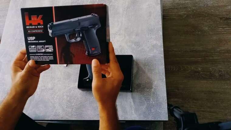 Pistolet Airsoft H&K USP – Courte critique