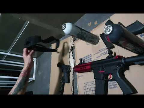 Examen de la précision des pistolets Airsoft et des carabines