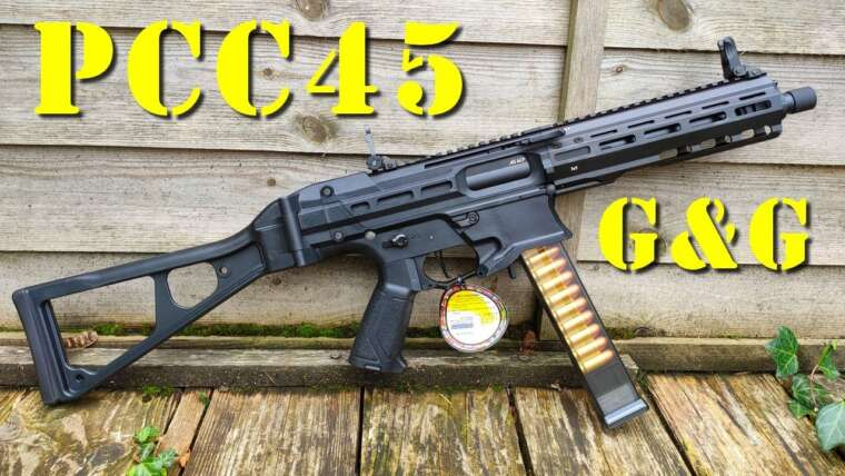 Airsoft – G&G PCC45 [French]