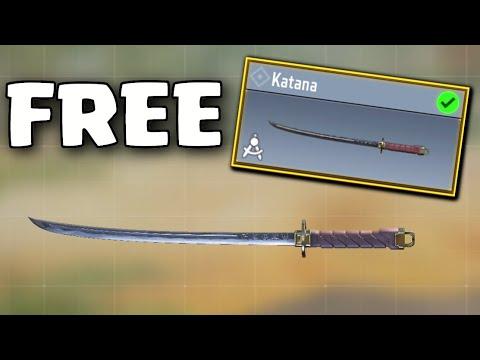 Le Katana GRATUIT est ENFIN ICI dans Call of Duty Mobile