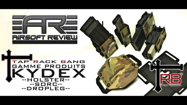 ✔ TRB HOLSTER – SORC – DROPLEG KYDEX / AIRSOFT REVIEW ✔