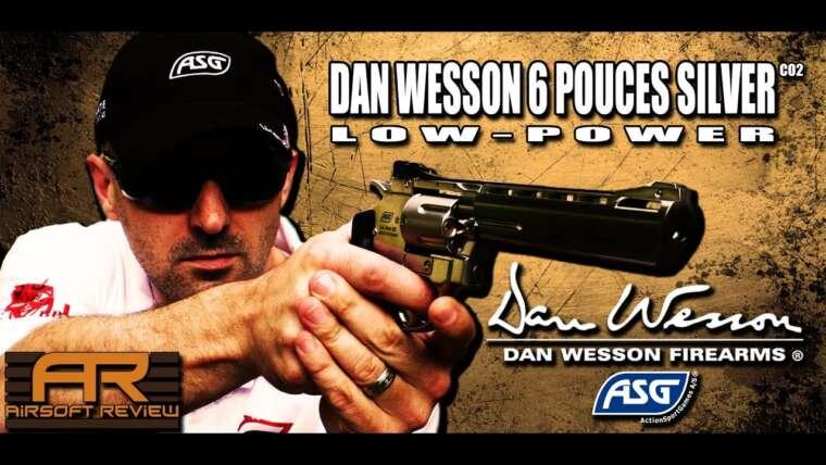DAN WESSON 6 POUCES ARGENT ( FAIBLE PUISSANCE ) ACTIONSPORTGAMES / AIRSOFT REVIEW