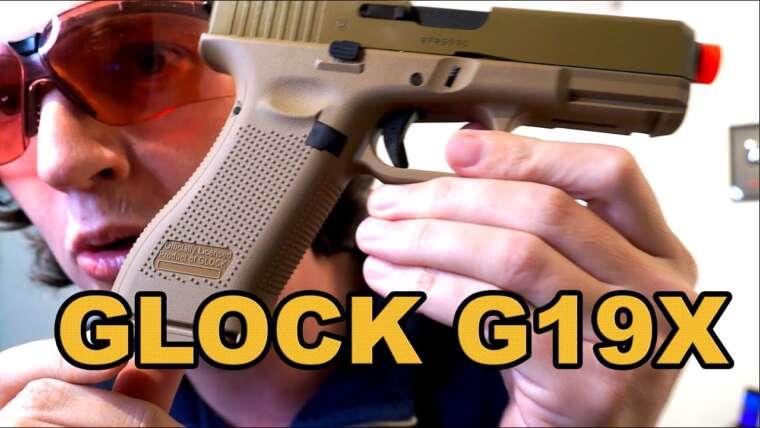 Glock G19X – Airsoft UMAREX + Vent + Tirage