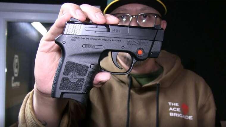 Test de tir au pistolet Tokyo Marui Bodyguard 380 Airsoft