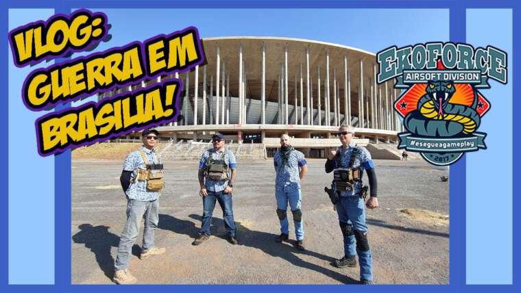 AIRSOFT    JEU VLOG À BRASILIA