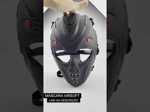 Masque Airsoft fermé (SUPER IRADA)    #Shorts