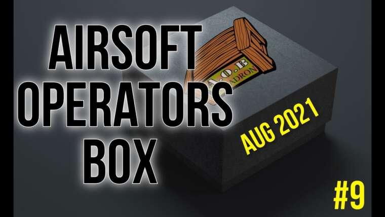 Airsoft Operators Box – Mystery Box Août 2021