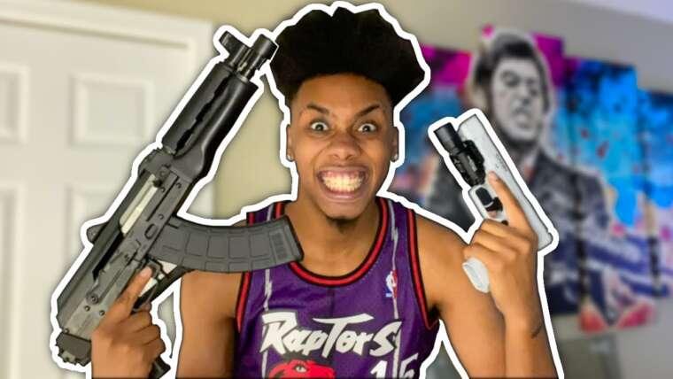 Révéler ma collection d'armes à feu !!!  (Insensé)