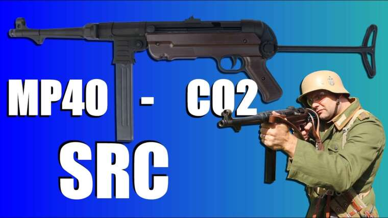 MP40 SRC – CO2 – REVUE AIRSOFT