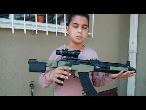 Revue des armes d'airsoft