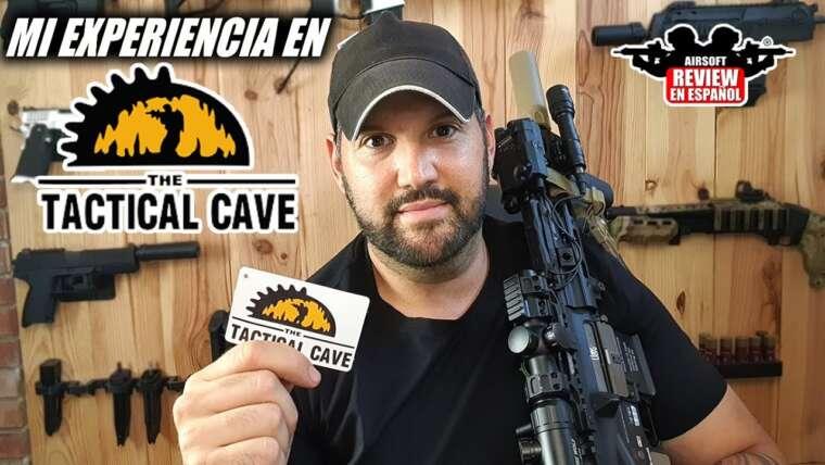 Mon expérience à 🥒LA CUEVA DEL TACTICAL 🔧 – La grotte tactique |  Revue Airsoft en espagnol