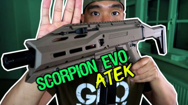 Critique du CZ Scorpion EVO 3 ATEK Airsoft |  Allemand