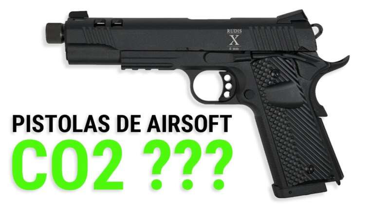 Pistolets Airsoft CO2