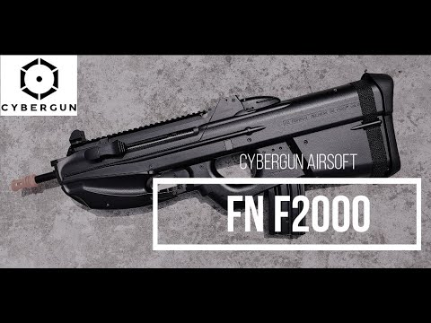 FN F2000 airsoft CYBERGUN / Revue en espagnol