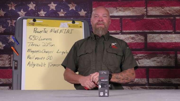 CQB à faible luminosité – PowerTac Mark Mini