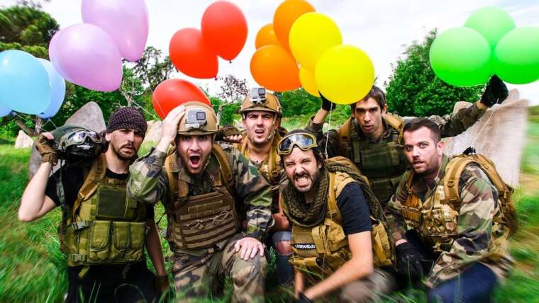 ENORME BATTLE ROYALE AIRSOFT !