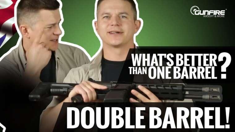 Double barillet = Double plaisir ?  Test du DT-4 Double Barrel AR Classic Army par Gunfire