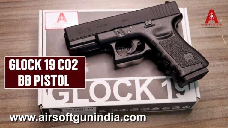 Pistolet Umarex Glock 19 co2 BB par Airsoft gun inde