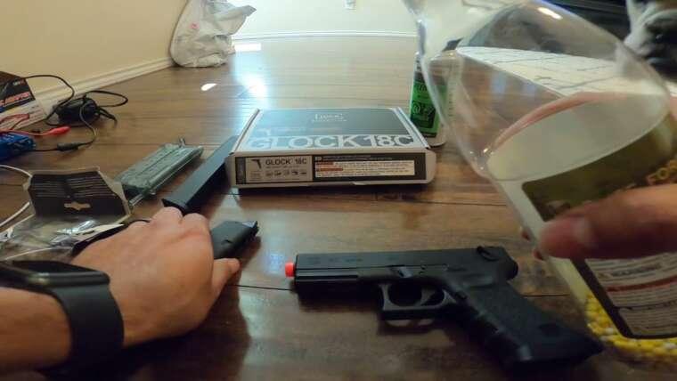 Airsoft Glock 18c